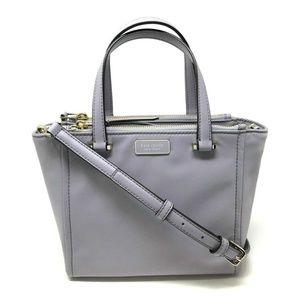 Kate Spade Dawn Small Satchel Nylon Crossbody Bag